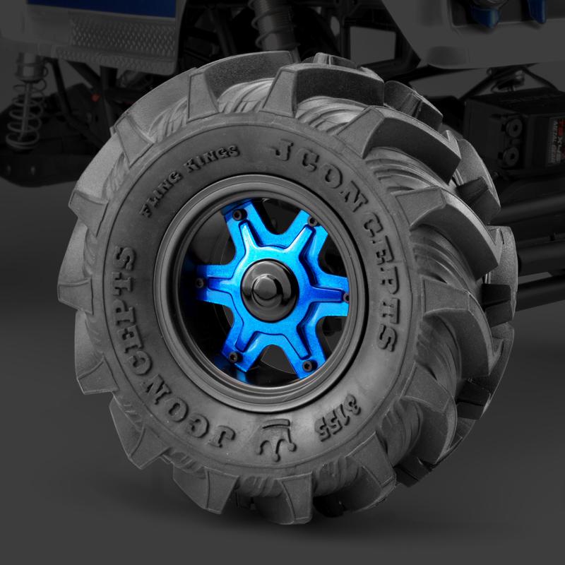 JConcepts Dragon 2.6 12mm Hex Wheel & Adaptors