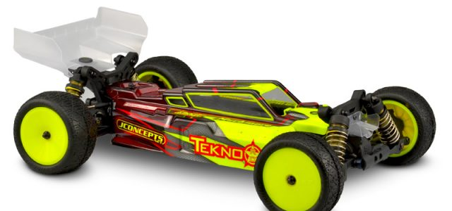 "JConcepts F2 ""Finnisher 2"" Tekno EB410 Body & Wings"