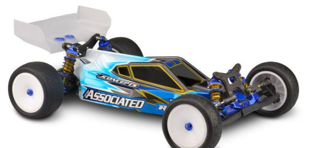 JConcepts P2 Body & S-Type Wing For The AE B6/B6D