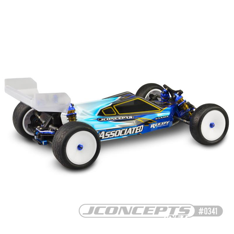 JConcepts P2 Body & S-Type Wing For The AE B6B6D
