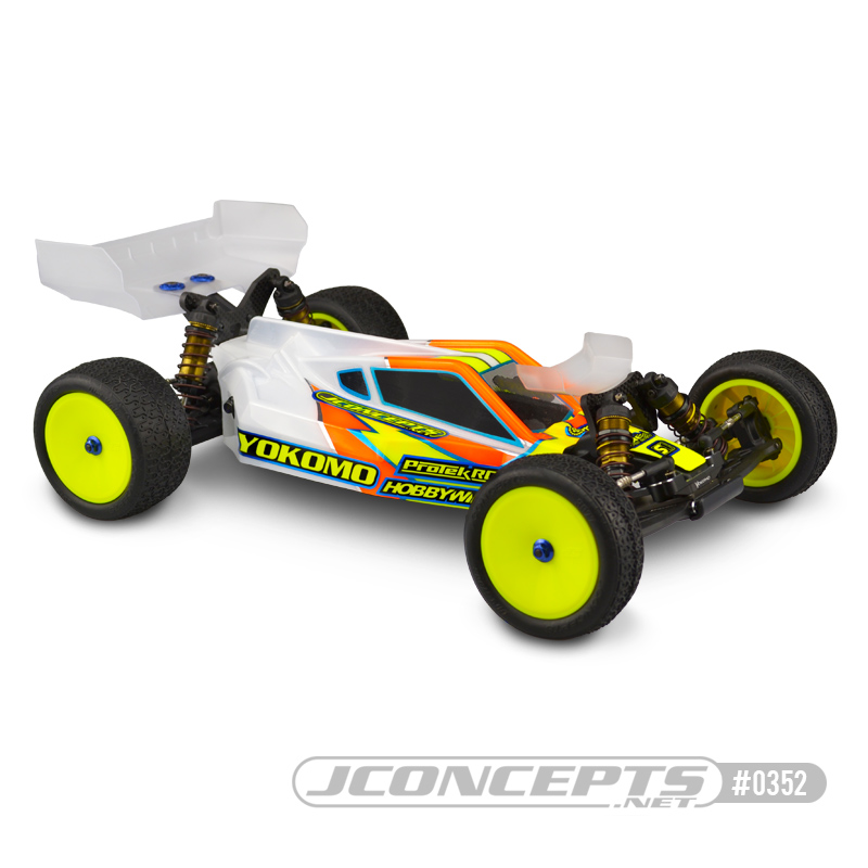 JConcepts P2 Punisher 2 Yokomo YZ2 IFMAR Worlds Body