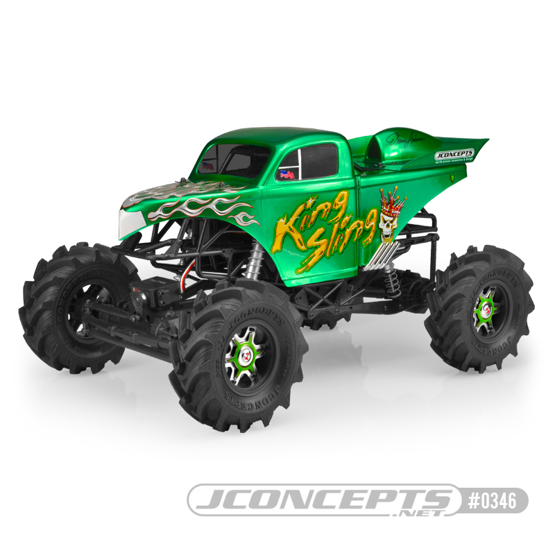 Rc Car Action >> King Sling Mega Truck Body From JConcepts - RC Car Action