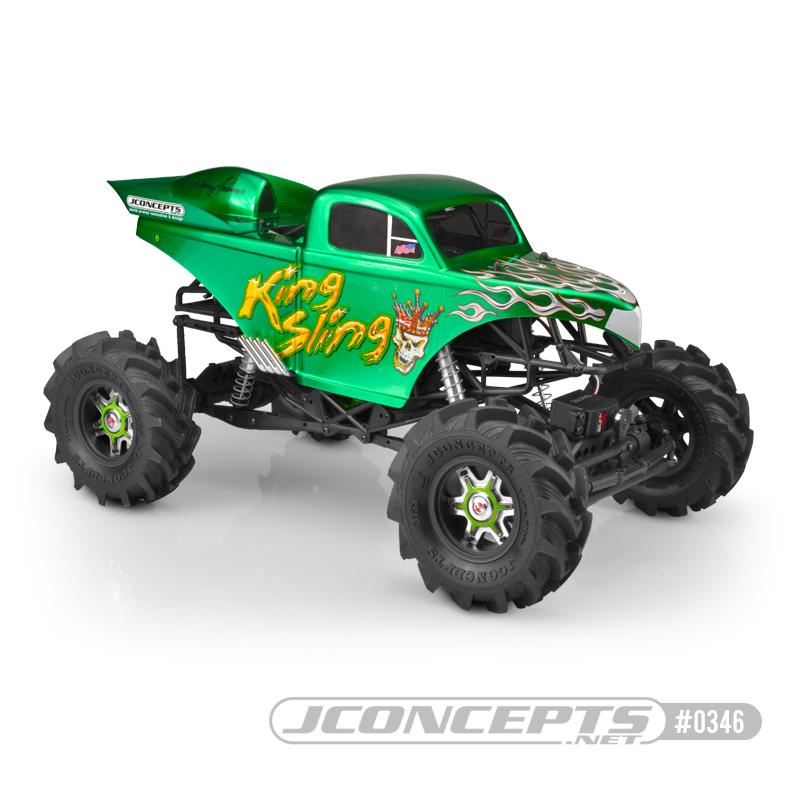 King Sling Mega Truck Body From JConcepts