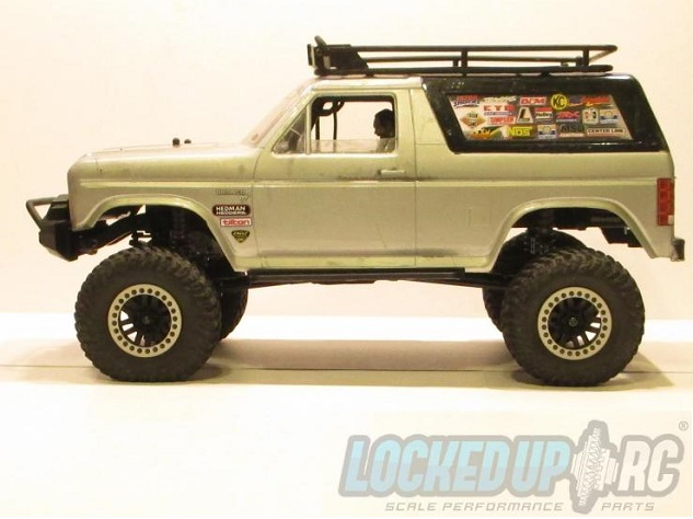 """Locked Up RC 1.9"""" Internal Beadlock Rings For The TRX-4"""