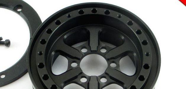 Locked Up RC 1.9″ JDUB SLW Black Wheels