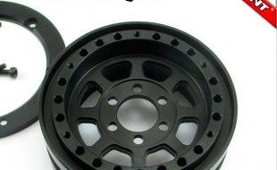 Locked Up RC 1.9″ TrailReady HD SLW Black Wheels