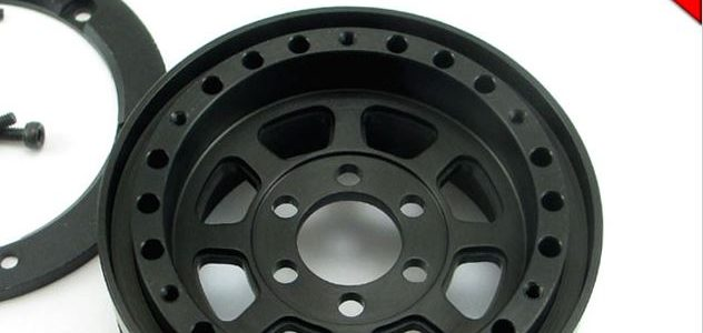 Locked Up RC 1.9″ TrailReady HD SLW Black Wheels
