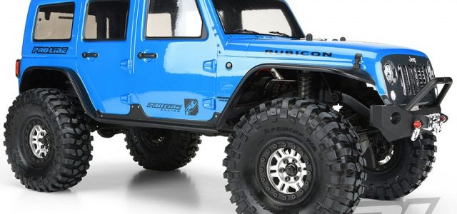 Pro Line Jeep Wrangler Unlimited Rubicon Trx 4 Body Rc Car Action