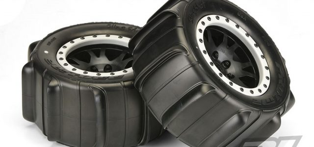 Pro-Line Mounted Sling Shot 4.3″ Pro-Loc Sand Tires
