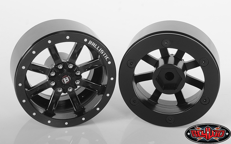 RC4WD Ballistic Off Road Rage 1.9'' Beadlock Wheels
