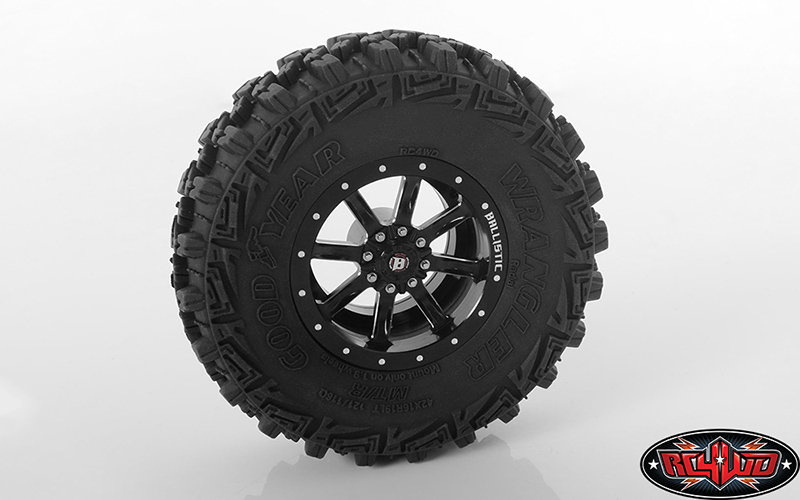 RC4WD Ballistic Off Road Rage 1.9'' Beadlock Wheels