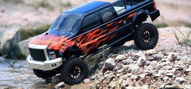 RC4WD Terrain RTR Truck Kit & Crusher Body