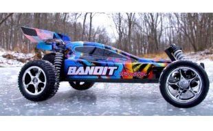 Rock n' Roll Traxxas Bandit [VIDEO]