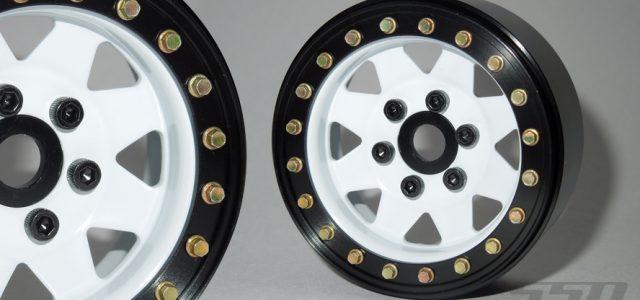 SSD 1.9″ Steel 8 Spoke Beadlock Wheels (White)