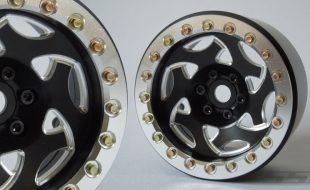 SSD 2.2″ Champion Wheels (Black/Silver)