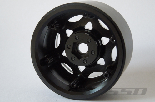 SSD 2.2 Champion Wheels (Black_Silver)