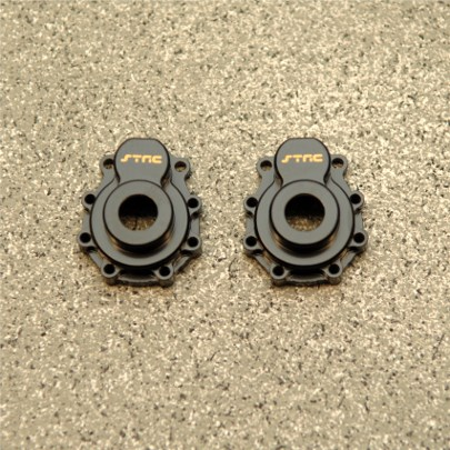 STRC Brass Caster Blocks & Portal Drive Housing For TRX-4