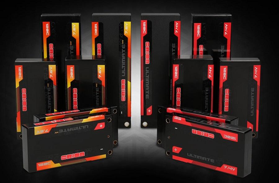 Team Orion Ultimate Graphene LiPo Batteries