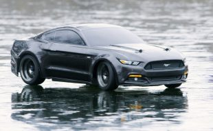 RC Ice Attack With The Traxxas Ford Mustang GT [VIDEO]