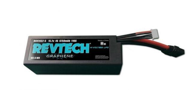 Trinity Hi-Voltage 15.2v 4S 6750mah Graphene LiPo