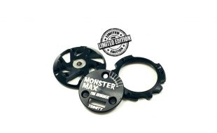 Trinity Limited Edition Black Monster Max End Plate Set