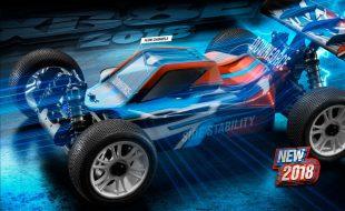XRAY XB8E 2018 Electric 4wd 1/8 Buggy