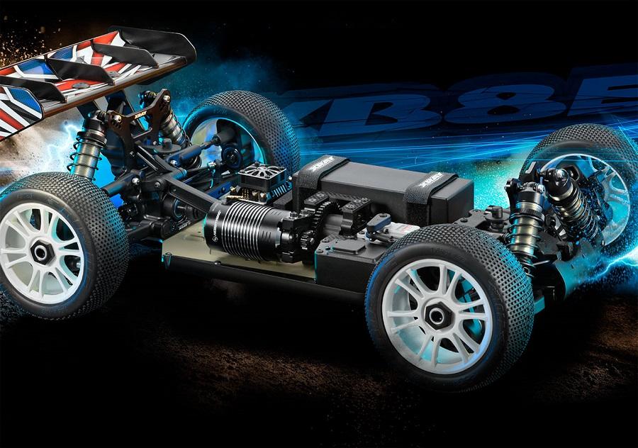 XRAY XB8E 2018 Electric 4wd 1_8 Buggy