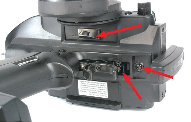 Futaba 7PX T-FHSS RC Radio - tension settings