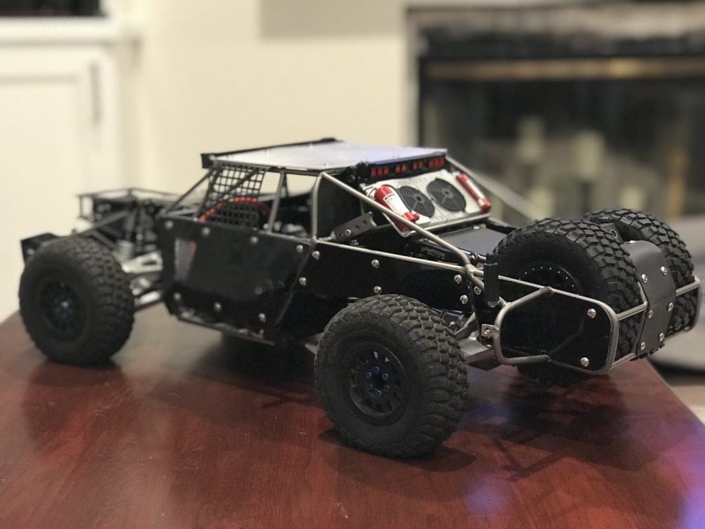 Rc Car Batteries >> Losi Baja Rey Full-Cage Trophy Truck [READER'S RIDE] - RC Car Action