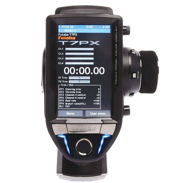 Futaba 7PX T-FHSS RC Radio - touch screen