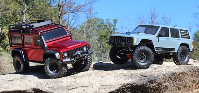 Axial SCX10 II vs  Traxxas TRX-4 [HEAD TO HEAD] - RC Car Action