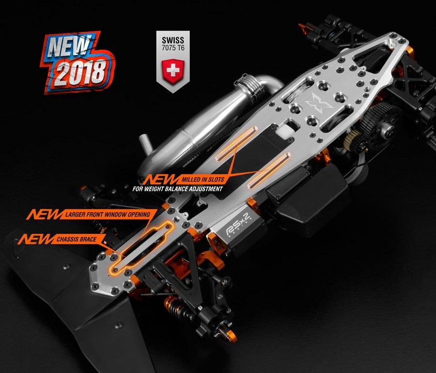 2018 XRAY RX8 1/8 On-Road Nitro Car