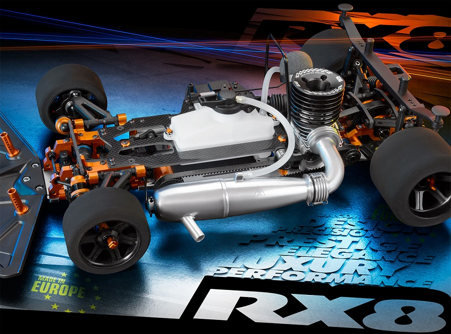 2018 XRAY RX8 1/8 On-Road Nitro Car