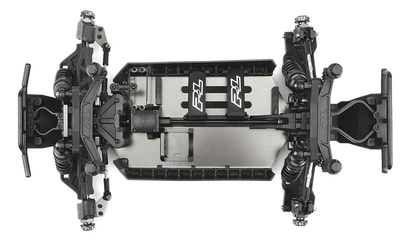 PRO-LINE PRO-MT 4X4 aluminum chassis