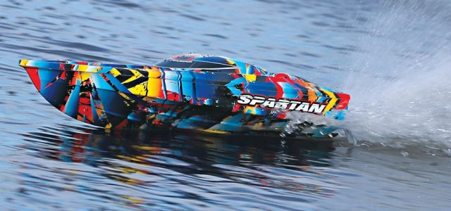 50+MPH Spartan With Rock N' Roll Paint [VIDEO]