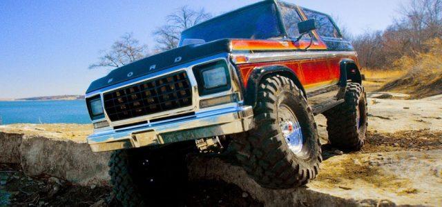 Traxxas Ford Bronco Goes Four-Wheelin' [VIDEO]