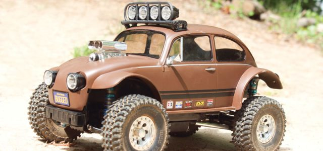 Tamiya CC-01 Baja VeeDub with V-8 Muscle  – RC Project