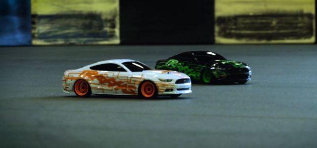 Kart Track Drift Battle With The Traxxas 4-Tec [VIDEO]