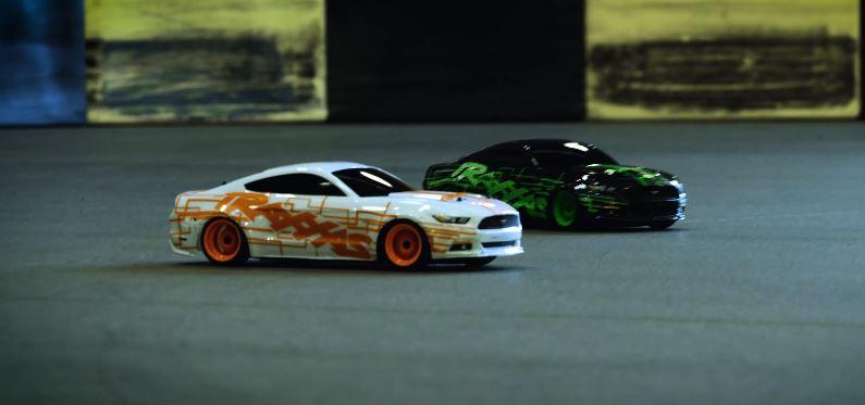 Kart Track Drift Battle With The Traxxas 4-Tec