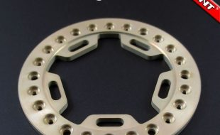 Locked Up RC 2.2″ Gridlock Rings In Paintable Chromate