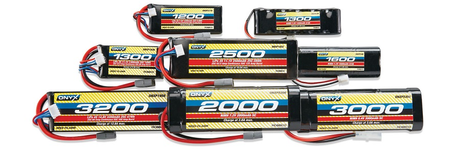 ONYX LiPo And NiMH Batteries
