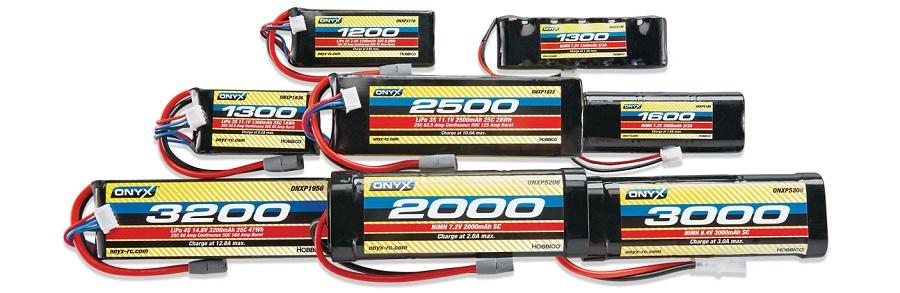 ONYX LiPo And NiMH Batteries