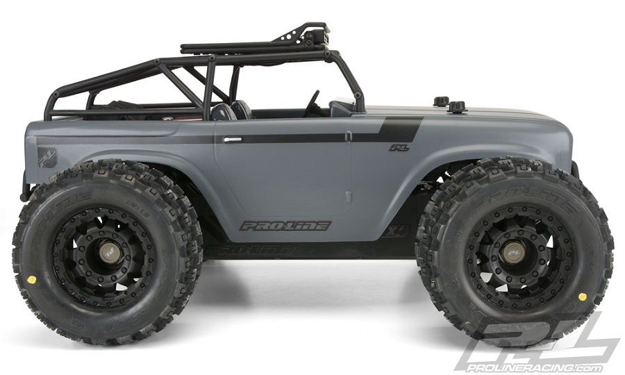 Pro-Line Ambush Clear Body With Ridge-Line Trail Cage