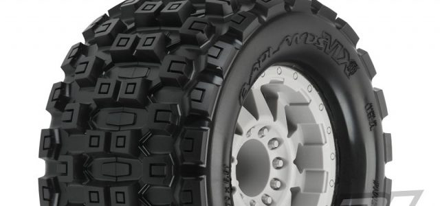 Pro-Line Badlands MX38 3.8″ Pre-Mounted Tires