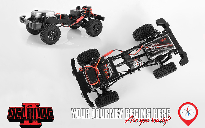 RC4WD 1/18 Gelande II RTR With Black Rock Body Set