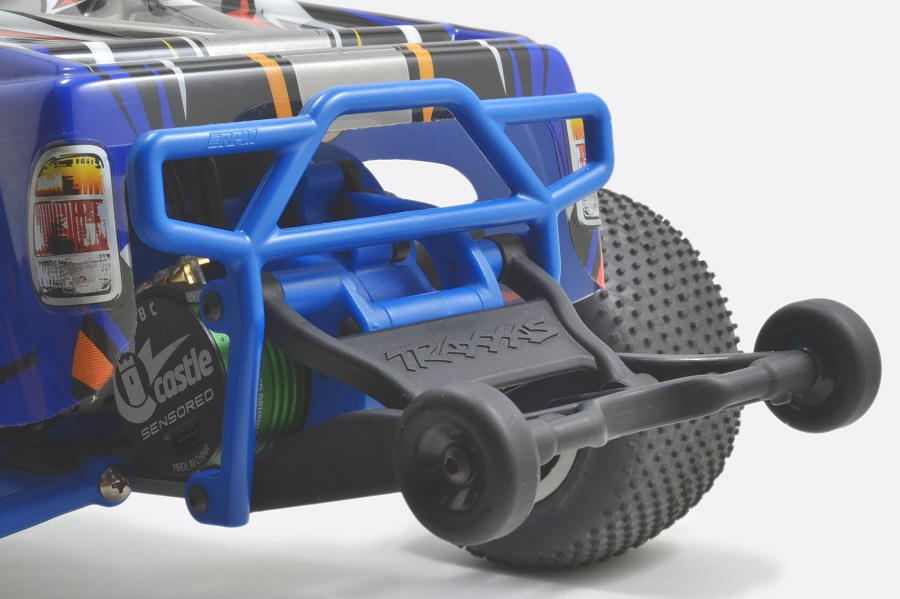 RPM Rear Bumper For The Traxxas Electric Rustler
