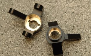 STRC Brass Front Knuckles & Rear Lock-Outs For SCX10 II