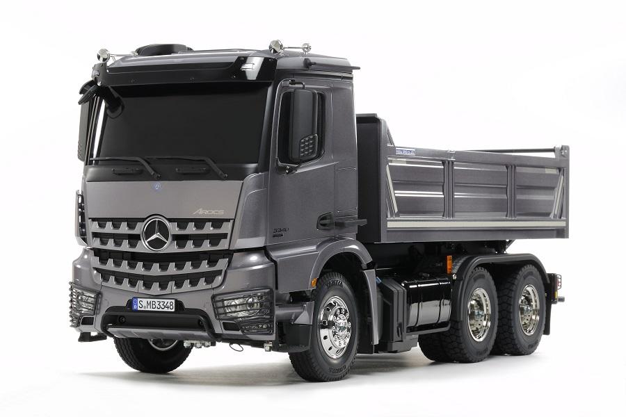 Tamiya Mercedes Benz Arocs 3348 6x4 Tipper Truck Rc Car