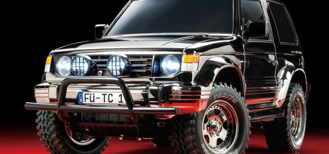 Tamiya Mitsubishi Pajero Black Metallic Limited Edition