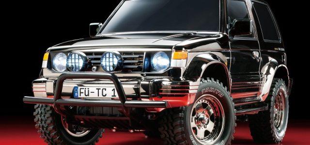 Tamiya Mitsubishi Pajero Black Metallic Limited Edition